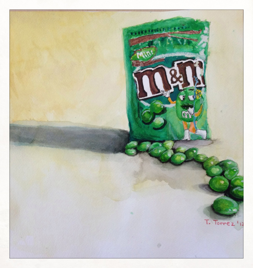 high school student work m&m's