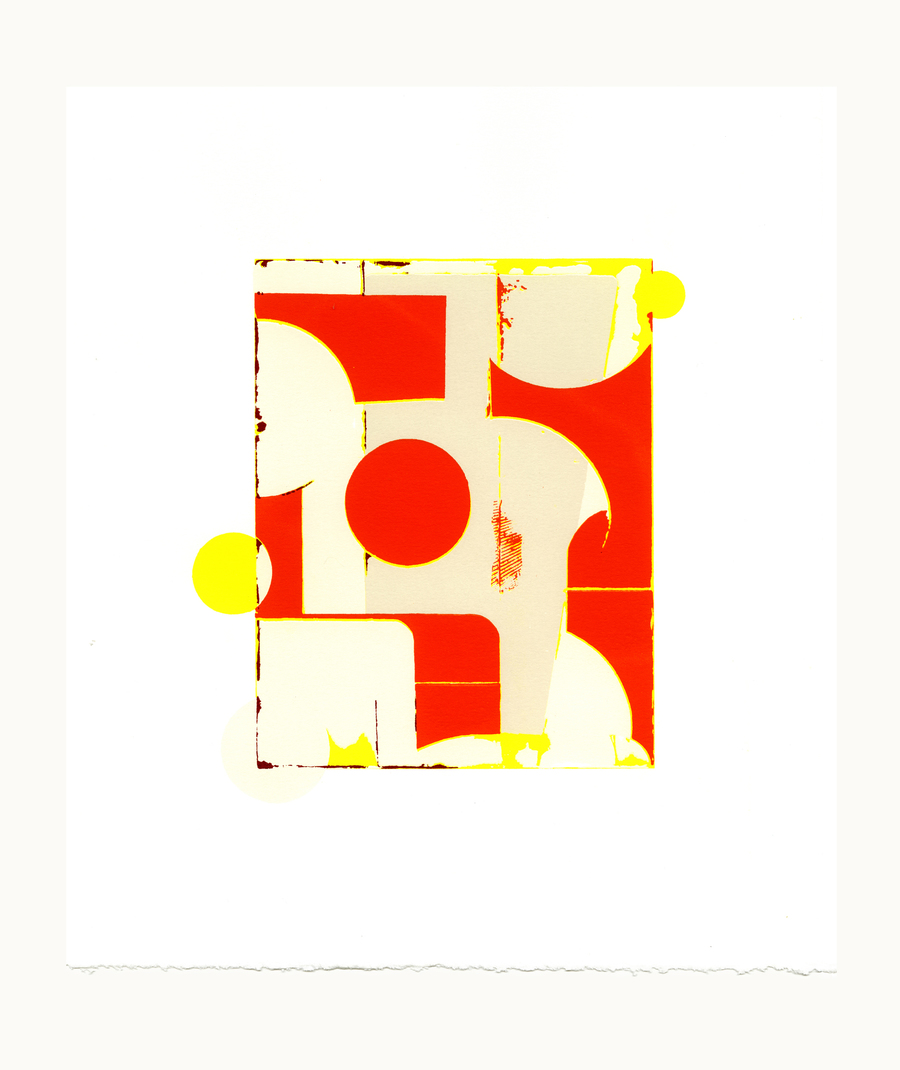 Prints 5 color serigraph on Rising Stonehenge, edition of 50