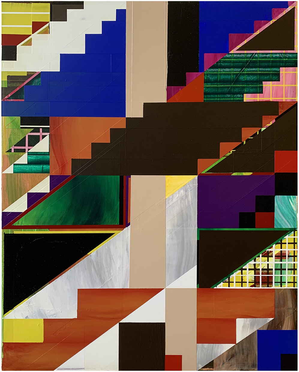 Paintings Escalator