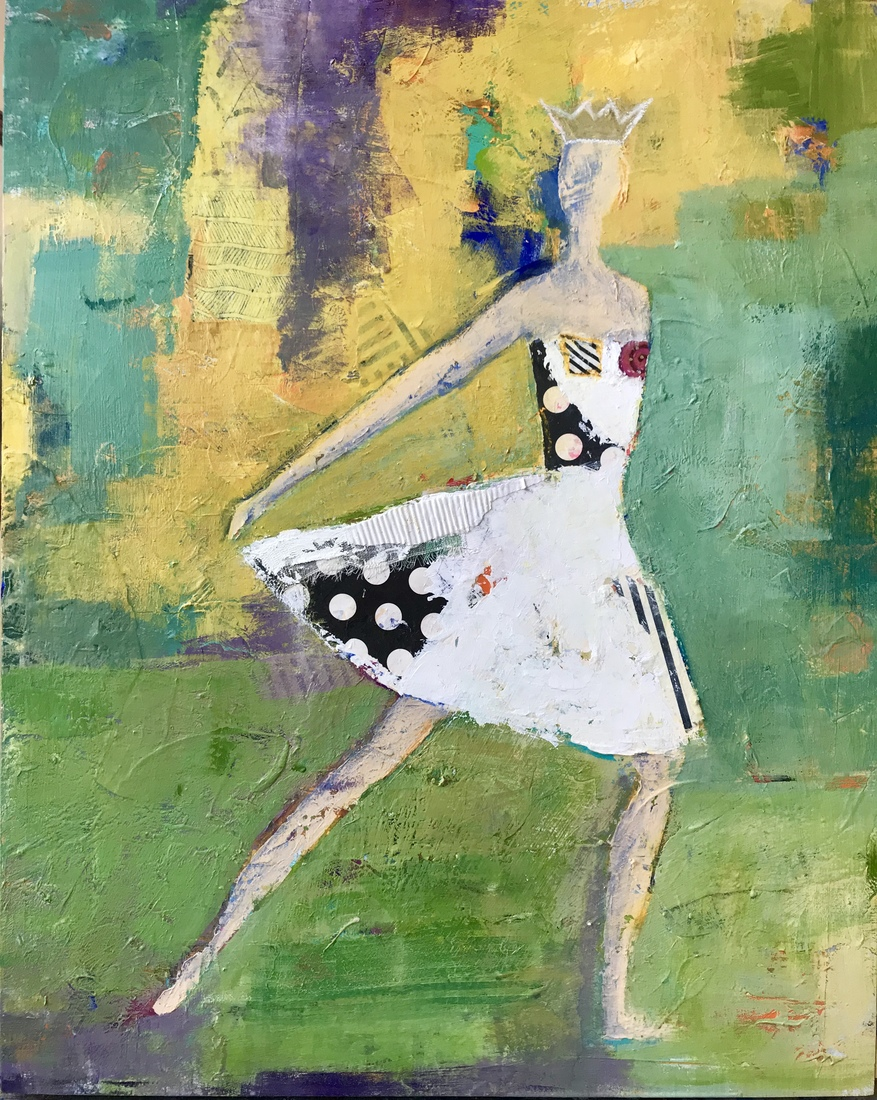 Paint & Palette Knife Royal Ballet