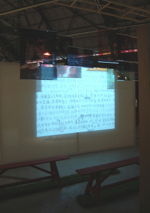 Charlene Shih Secret Garden (with video clips) Video Installation