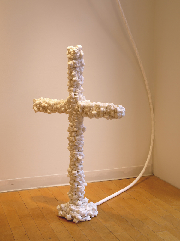Charles Goss Everything I Don't Know Srting, marshmallows, wood, Wintergreen Life Savers