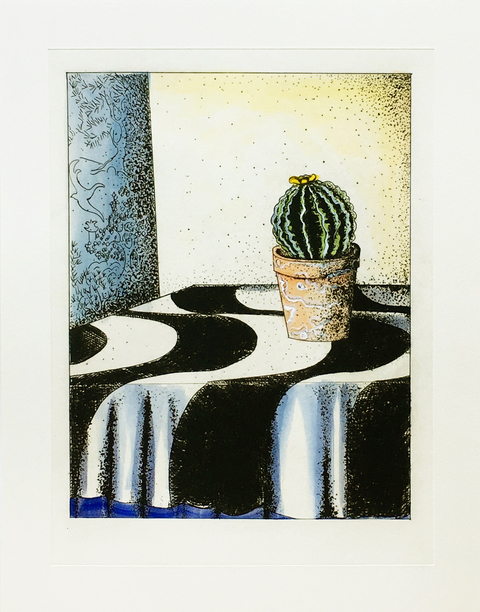 CHEYMORE GALLERY Matt Austin | Plant Life April 27 - July 6, 2019 Drypoint with hand-coloring on Hahnemühle paper