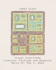 JAMES SIENA / VISUAL ALGORITHMS / March 27- May 4, 2013