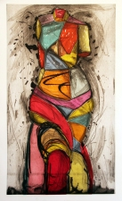 CHEYMORE GALLERY PRINTS: Contemporary Masters Jim Dine and Chuck Close Jig-saw woodcut and drypoint etching