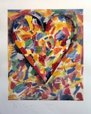 CHEYMORE GALLERY PRINTS: Contemporary Masters Jim Dine and Chuck Close Lithography and etching