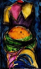 CHEYMORE GALLERY PRINTS: Contemporary Masters Jim Dine and Chuck Close Etching and carborundum with hand coloring