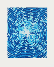 CHEYMORE GALLERY NEW EDITIONS from Marginal Editions and Shore Publishing Linocut reduction in 6 colors on Hosho paper