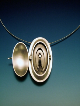 Chris Irick  works from 2006 - 2000 sterling silver, 18k yellow gold.