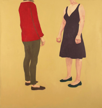Christina Renfer Vogel Archive (2011–2015) oil on canvas