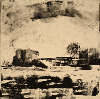 Christine Shannon Aaron Work on Paper monotype