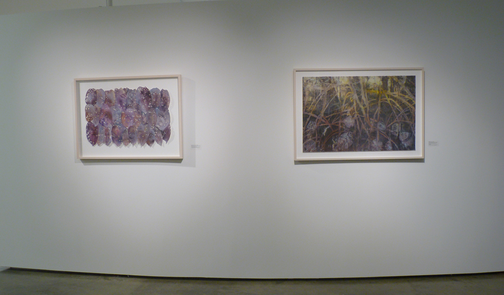 CHRISTINE NEILL Installation Views of Katzen Exhibit, Observation from the Valley Floor, 2019