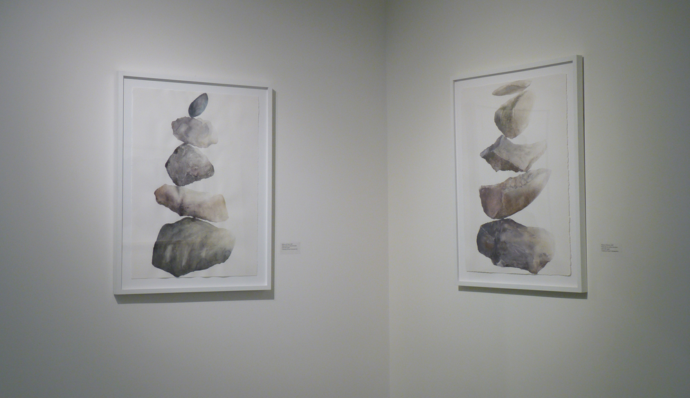 CHRISTINE NEILL Installation Images of Katzen Exhibit, Observation from the Valley Floor, 2019