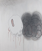 Christopher Kent Schumaker Paintings 2011 Acrylic, Enamel & Graphite on Canvas