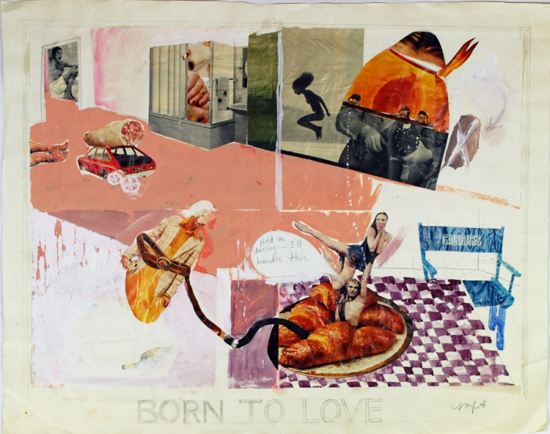 Christopher Croft Mixed Collages