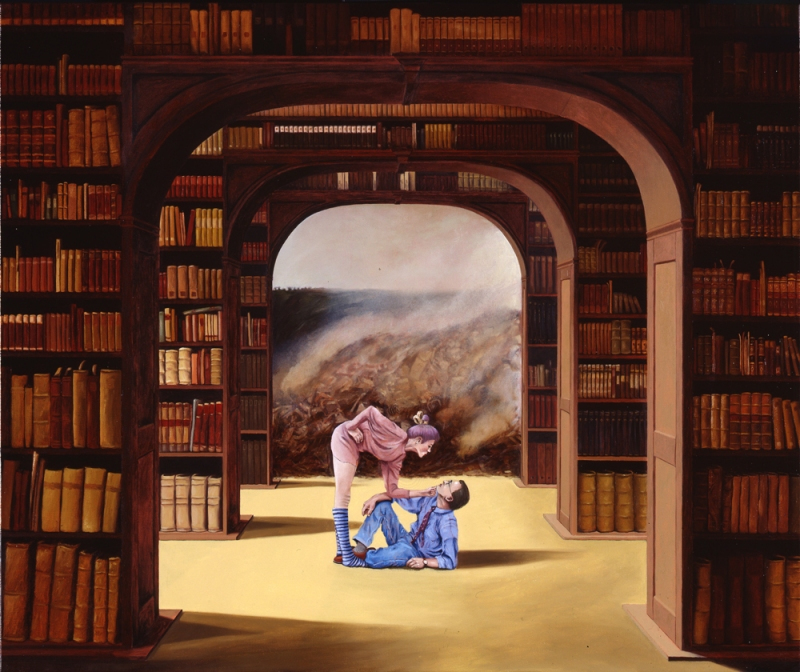 Christopher Croft Museums Oil on Canvas