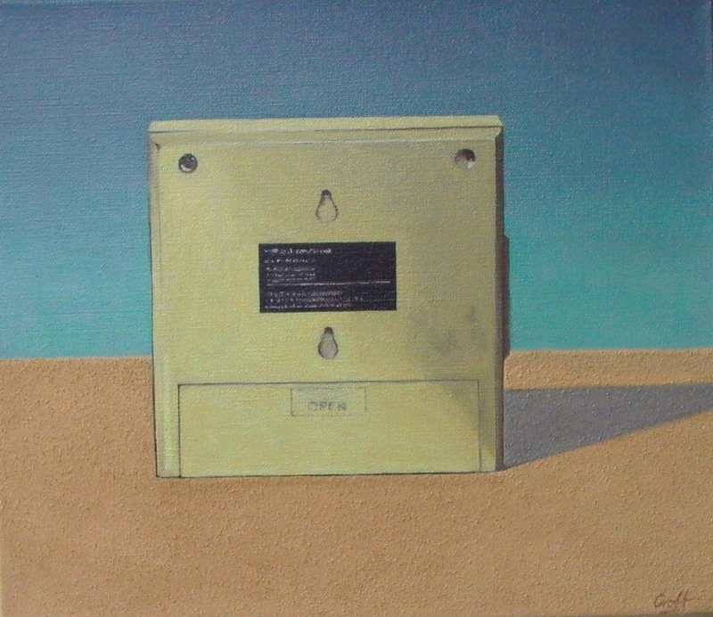 Christopher Croft Still Lives Oil & Sand on Canvas
