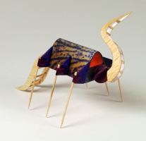 Christopher Croft Insect Studies Modelling Spruce, Toothpicks, Balsa Wood, Cloth, Acrylic Paint