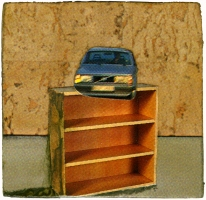 Christopher Croft Doorwedge Chronicles Wooden Wedge, Collage