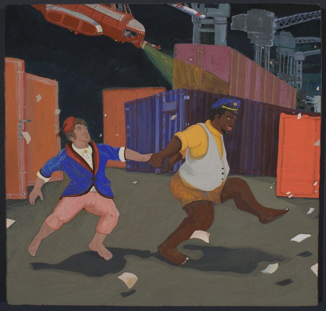 NEWest!!! A Musical for Painting: Lolly Gagher and Thumper Dance Away Our Blues on the Newark Pier
