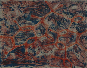 Cindie Kehlet Works on Paper Oil on Paper