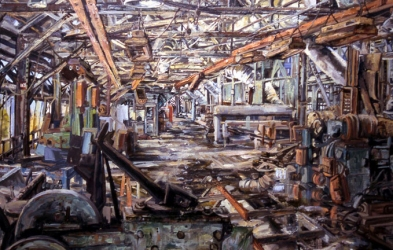 "Cindy Tower ""Workplace Paintings"""