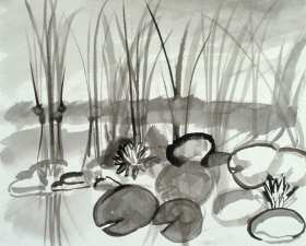Claire Rosenfeld Drawings ink on paper