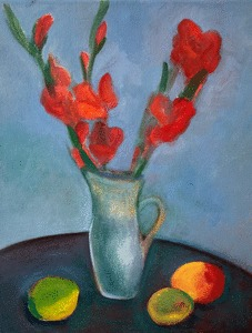 Claire Rosenfeld Still Lifes oil on canvas