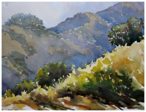 Cleo Vilett Outdoor Studies Watercolor