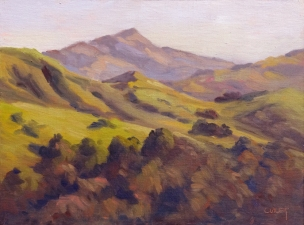 Cleo Vilett Outdoor Studies Oil