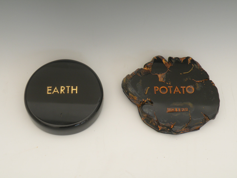 In The Beginning Was Black Series Earth - Potato