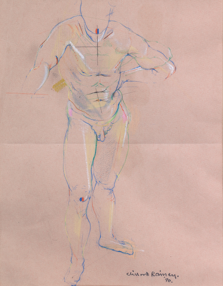 Preparatory Drawings Figure Study
