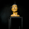 The Human Form Plaster, gesso, pigment, glass, c-clamps, rubber, metal bases