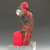 The Human Form Glass and oil paint