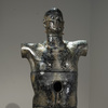 The Human Form Glass, iron, wood, gesso