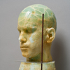 The Human Form Recycled cast plate glass, marble dust, sheet glass, oxides
