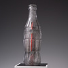 Bottle/Coca Cola Form Glass, metal, acrylic, wood, gesso, rubber and gold leaf