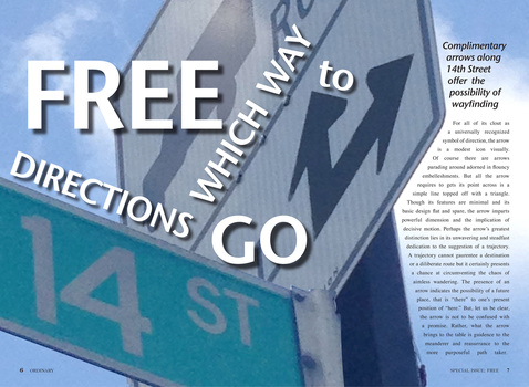 Clover Archer  Ordinary: Special Issue FREEdom on 14th Street indesign file