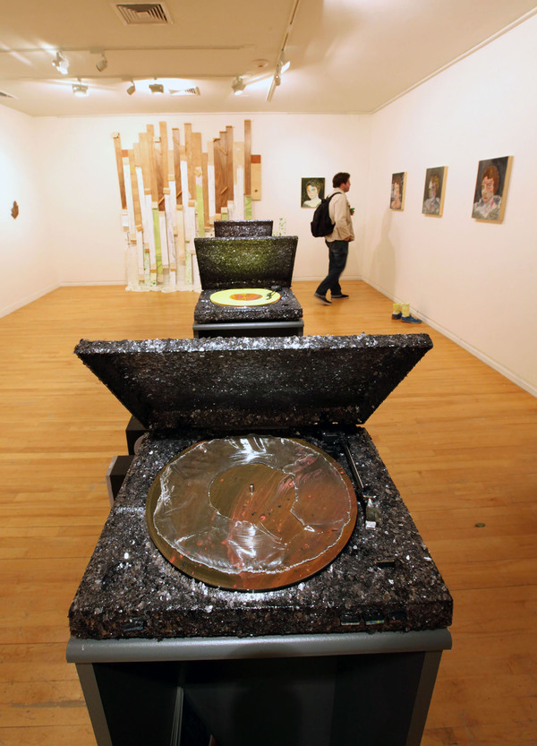 Get In The Pit (installation view)