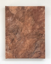 COLLEEN O'BRIEN NEW MEXICO Soil and Conte on Canvas