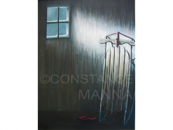 Connie Manna GALLERY Acrylic and Oil on Canvas