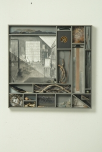 Constance Kiermaier Constructions mixed media construction
