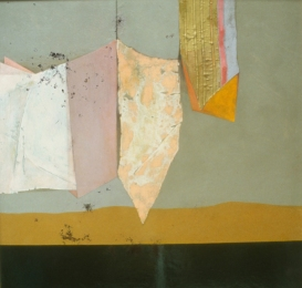 Constance Kiermaier Paintings mixed media on masonite