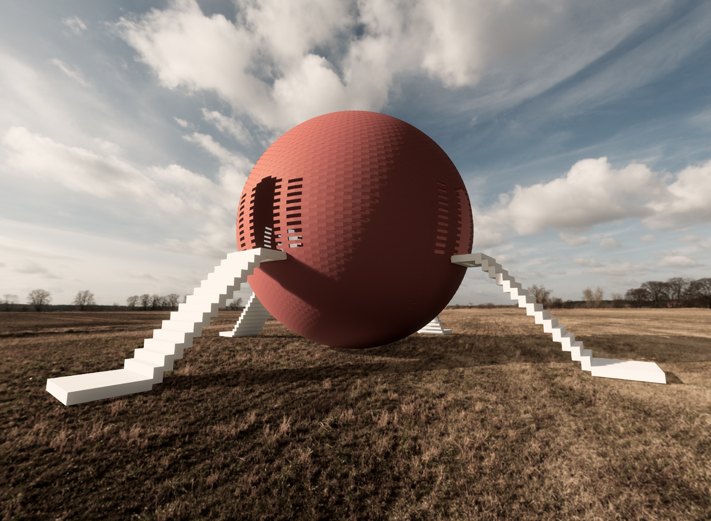 konstantin sphere Rendered 3D scene