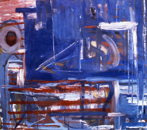 Marcia Cooper ON PAPER, 1988-1989 oil on paper