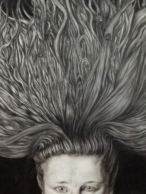 Cristina de Gennaro Miscellaneous Drawings. Charcoal and graphite on mylar.