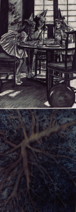 Cristina de Gennaro Miscellaneous Drawings. Charcoal, conte, chalk pastel, watercolor on paper.
