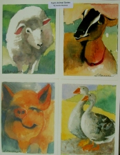 Sandra Maresca Greeting cards water color prints