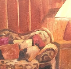 Sandra Maresca Still Lifes & Interiors oil on board