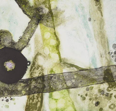 Cynthia MacCollum Continuum Collagraph Monoprint